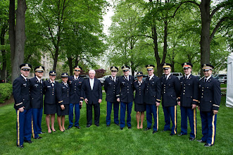 Photo: Class of 2011 with Mr. Paul Delaney BC '66.