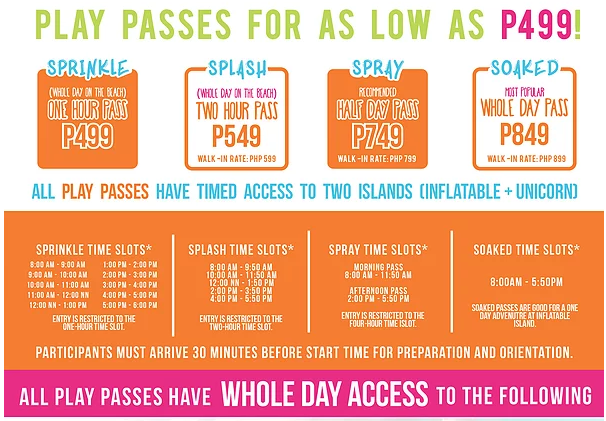 The Biggest Floating Playground in Asia: Inflatable Island in Subic - Packages and rates | www.wearejuanderers.com