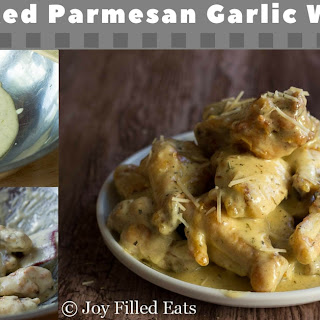 Oven Baked Parmesan Garlic Wings – Low Carb THM S