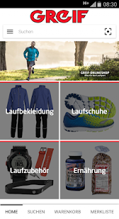 Greif Onlineshop- screenshot thumbnail