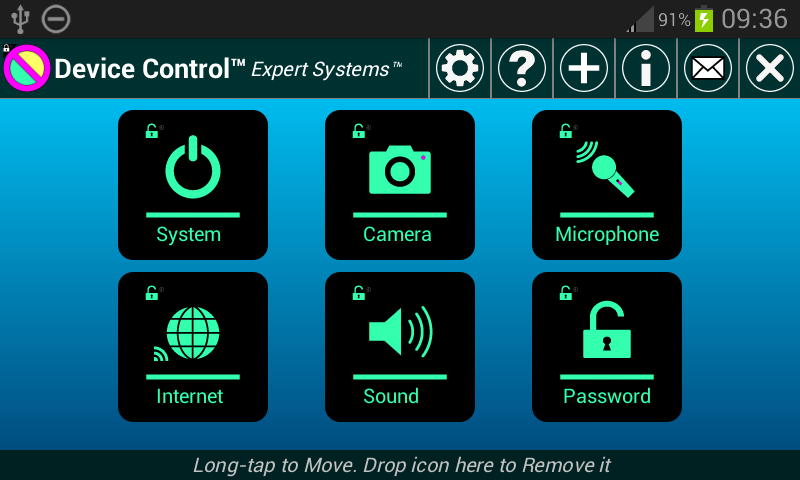 Device Control- screenshot