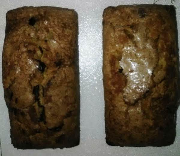 Sugar-coated Chocolate Chunk Rum And Pumpkin Loaf Recipe