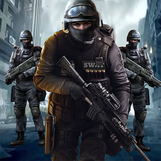 SWAT Team Police Sniper Strike