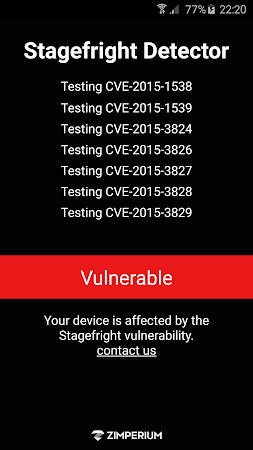 Stagefright Detector App 2.0 screenshot 26188