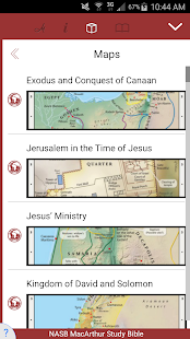 NASB MacArthur Study Bible - náhled