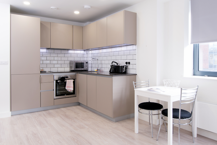 Fully equipped kitchen at Platform Bedford