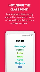 KOBI - Helps Children Read Screenshot