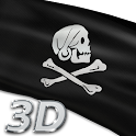 Pirate Flags Live Wallpaper 3D icon