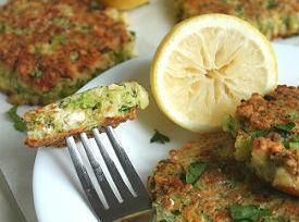 Broccoli And Feta Fritters Recipe