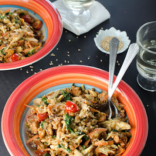 Curried Chicken and Wheat Berry Salad