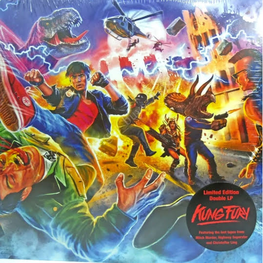 Kung Fury - Limited Edition (2LP) (Vinyl LP)