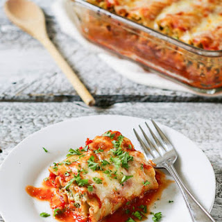Healthy Vegetarian Lasagna Rolls