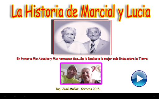 History of Marcial and Lucia