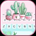 Cactus Garden Keyboard Theme icon