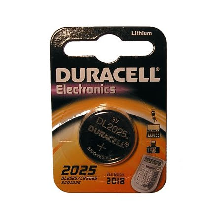 Duracell CR2025 Knappcell