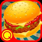 Burger Cafe No Repeat Icon