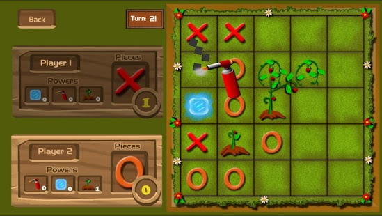 Tictactoe Superpowers - free game. Play now!- screenshot thumbnail