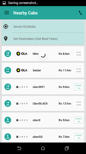 OyeTaxi - one stop for taxis