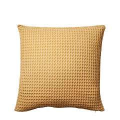 RUT Cushion cover 50x50 cm waffle mustard