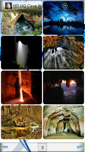 HD HQ 동굴 배경 화면
