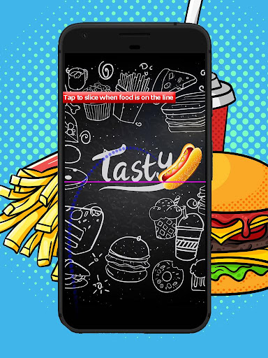 Fast Food Fight - Yummy Slicing Game to Slice Food cheat screenshots 5