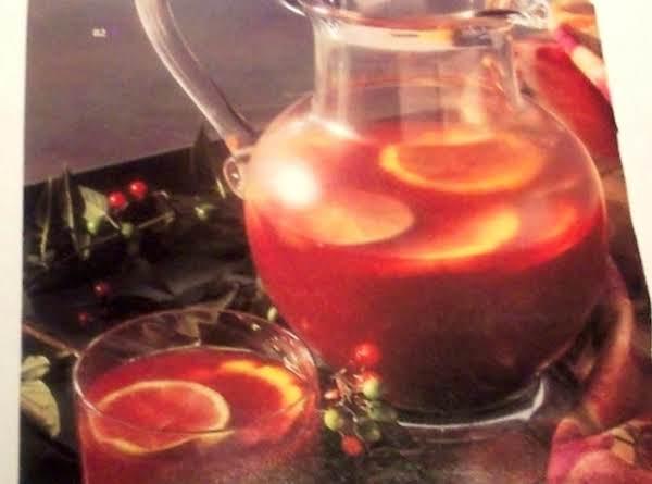 Sparkling Cranberry Sangria Recipe