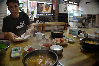 Photo: Lunch with Junsik