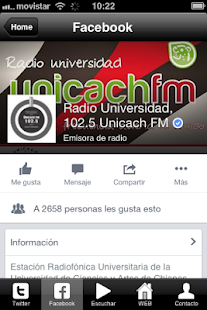 Unicach Radio- screenshot thumbnail