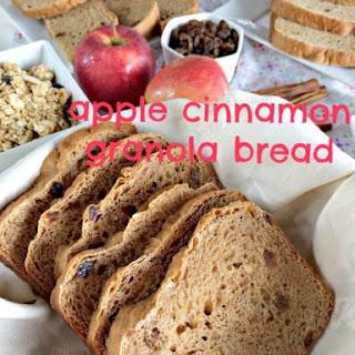 Apple Cinnamon Granola Bread