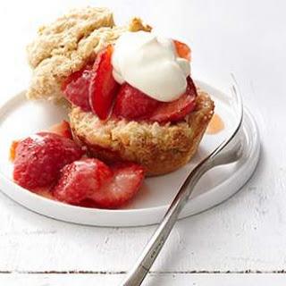 Muffin-Tin Strawberry Shortcakes