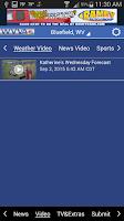 Screenshot of WVVA Weather