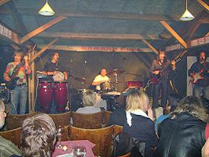 Photo: Bananapeel 2008 (bas: Gerry Jablonski-Scotland, drum: Glenn Lyon-Hull & Sara and Steve)