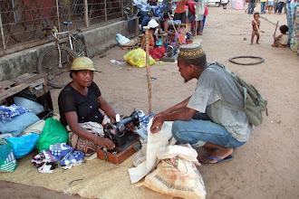 Photo: Market area -->