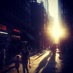 by Sergio França - City,  Street & Park  Street Scenes