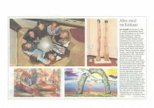 Photo: Artikel in der MZ/ Naumburg Juli 2013