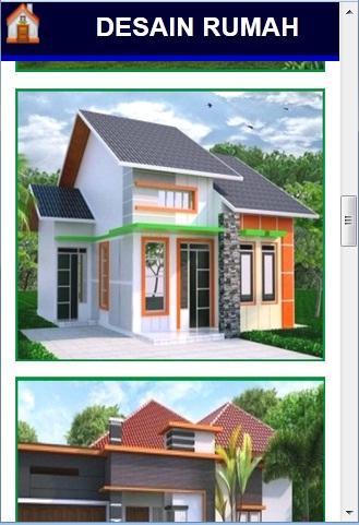 desain rumah idaman screenshot