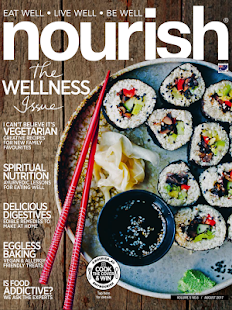 Nourish Magazine- screenshot thumbnail