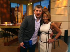Photo: Getting ready for Windy City LIVE with my former Today Show producer Dan Barbossa!