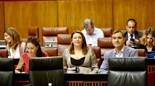 Crespo acusa a Susana Díaz de no pedir ahora lo que exigía a Rajoy