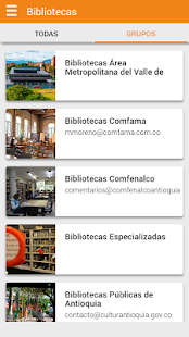 Red de Bibliotecas- screenshot thumbnail
