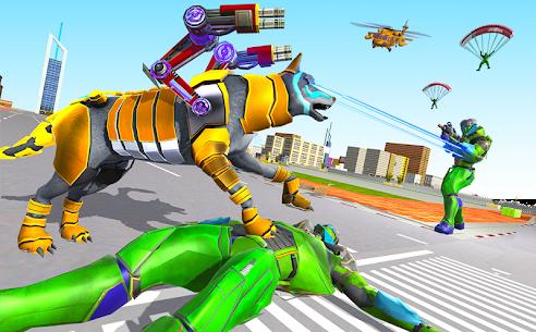 Wolf Robot Transforming Games – Robot Car Games 5