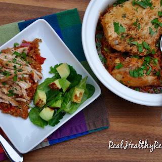 Chicken Chorizo Veggie Rice Pot.