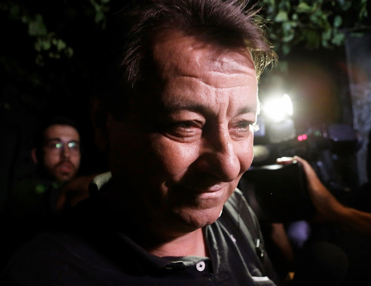 Italian former leftist guerrilla Cesare Battisti in Sao Paulo on March 13 2015. Picture: REUTERS/NACHO DOCE