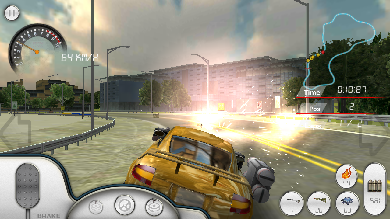 Armored Car Hd Racing Games