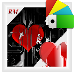 Tampered Heart - theme Xperia™ Icon