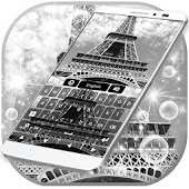 Eiffel Tower Snow Keyboard
