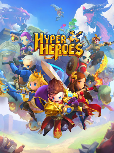 Re: Hyper Heroes: Marble-Like RPG poster