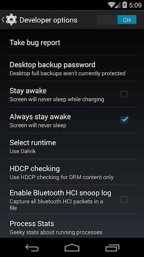 Developer options & Developer Settings 1.057 screenshots 2