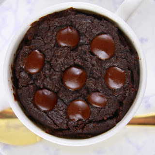 1 Minute Microwave Brownie-Microwave Mug Meals