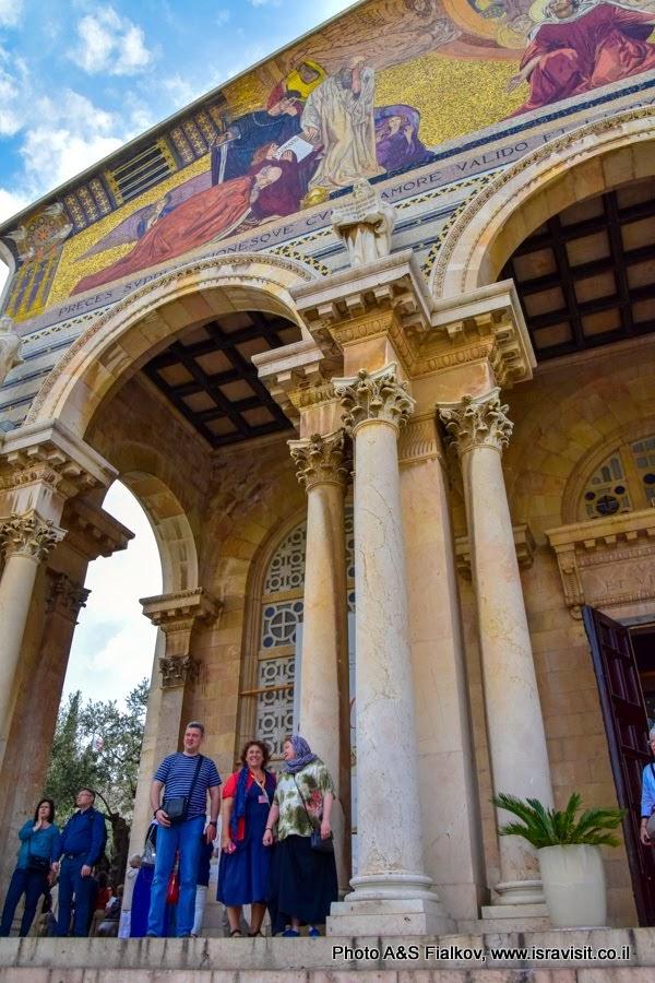 Гефсиманский сад. Церковь Всех Наций или Церковь Агонии или Моление о чаше. Экскурсия в Иерусалиме с гидом Светланой Фиалковой.